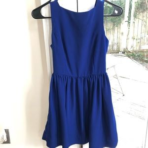American Apparel Royal Blue Dress